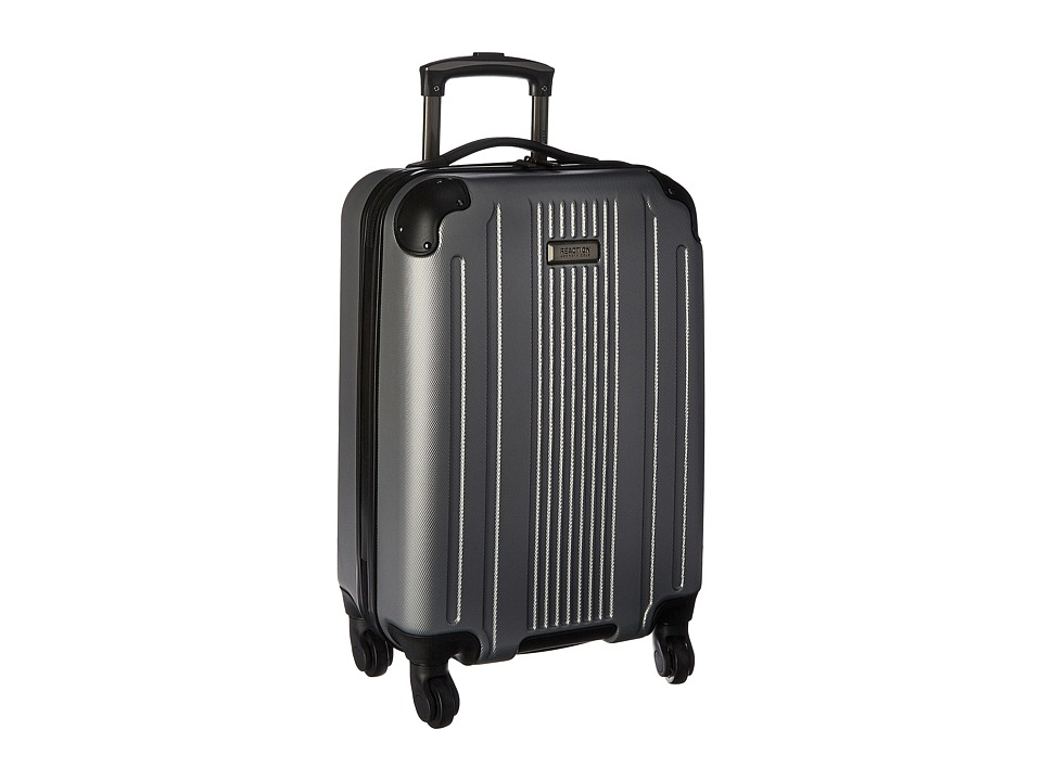 Kenneth Cole Reaction Gramercy 20 4-Wheel Carry On (Light Silver) Luggage