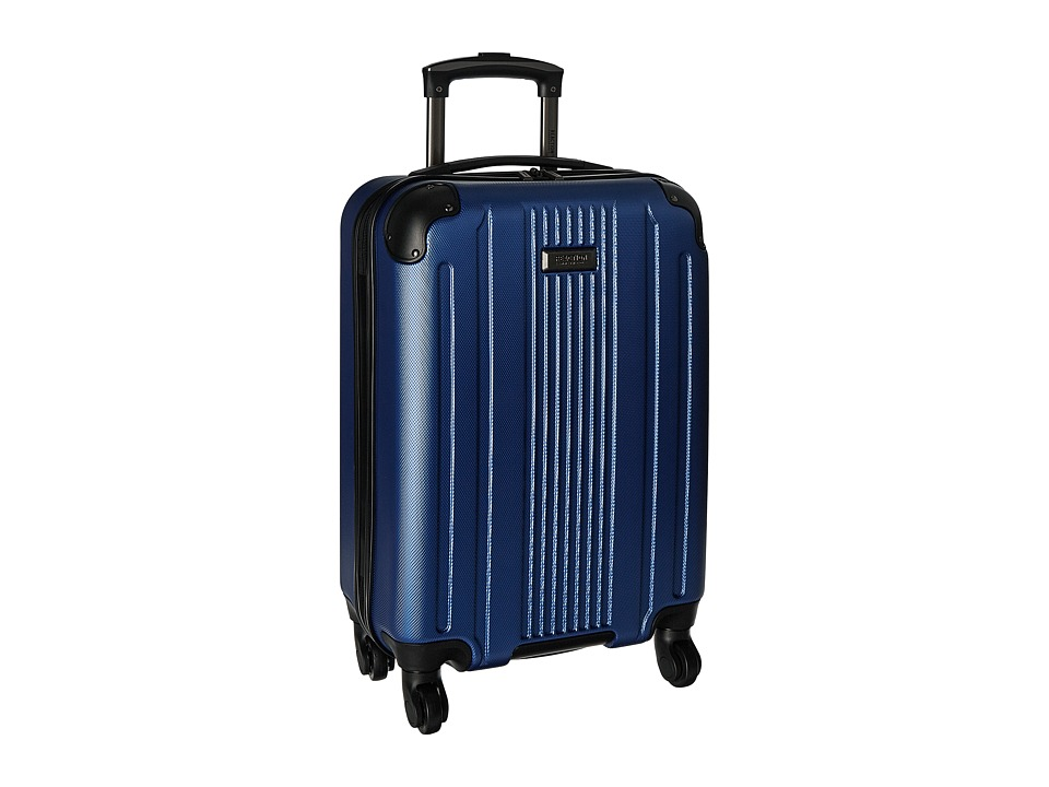 Kenneth Cole Reaction Gramercy 20 4-Wheel Carry On (Cobalt Blue) Luggage