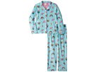 P.J. Salvage Kids Emoji Playful Pajama Set (Big Kids)