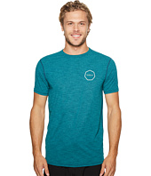 VISSLA - Alltime Short Sleeve Heathered Surf Tee UPF 50