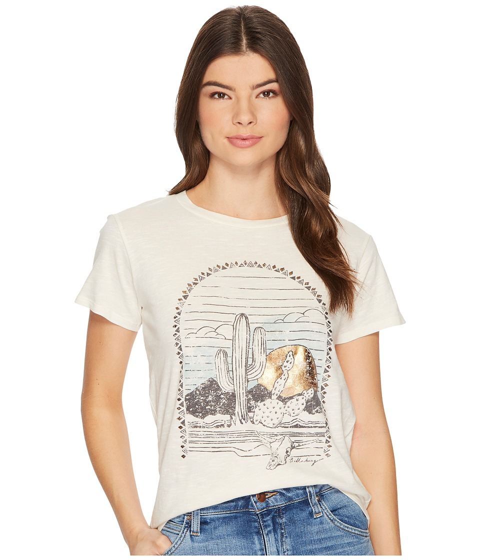 Billabong Desert Sunset T-Shirt (White Cap) Women