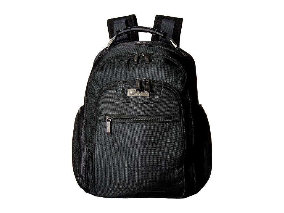 Kenneth Cole Reaction - Ez - Scan Computer Backpack (Black) Backpack Bags