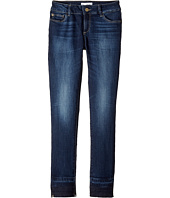 DL1961 Kids - Mid Wash Relaxed Skinny with Released Hem Jeans in Montrose (Big Kids)