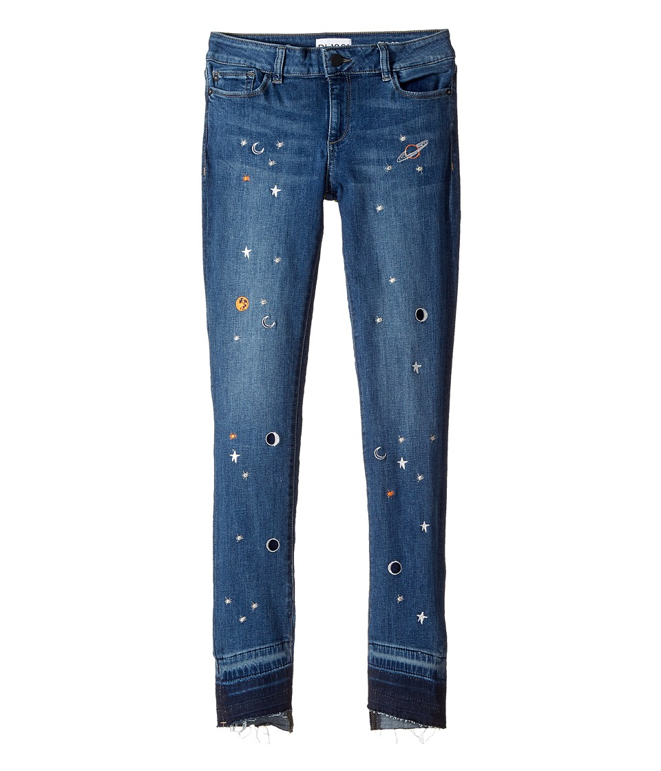 DL1961 Kids - Embroidered Skinny Jeans in Galaxy (Big Kid...