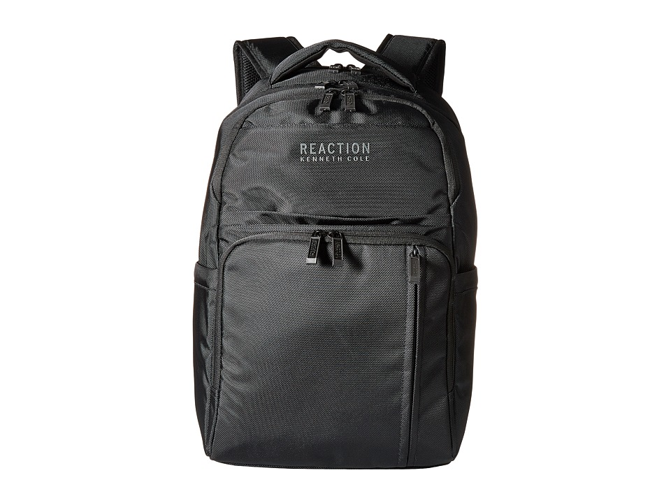 Kenneth Cole Reaction - Put Your Pack Up Computer Backpack (Black 1) Backpack Bags