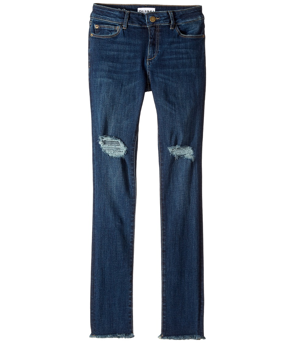 DL1961 Kids Chloe Skinny Jeans in Willow (Big Kids) (Willow) Girl