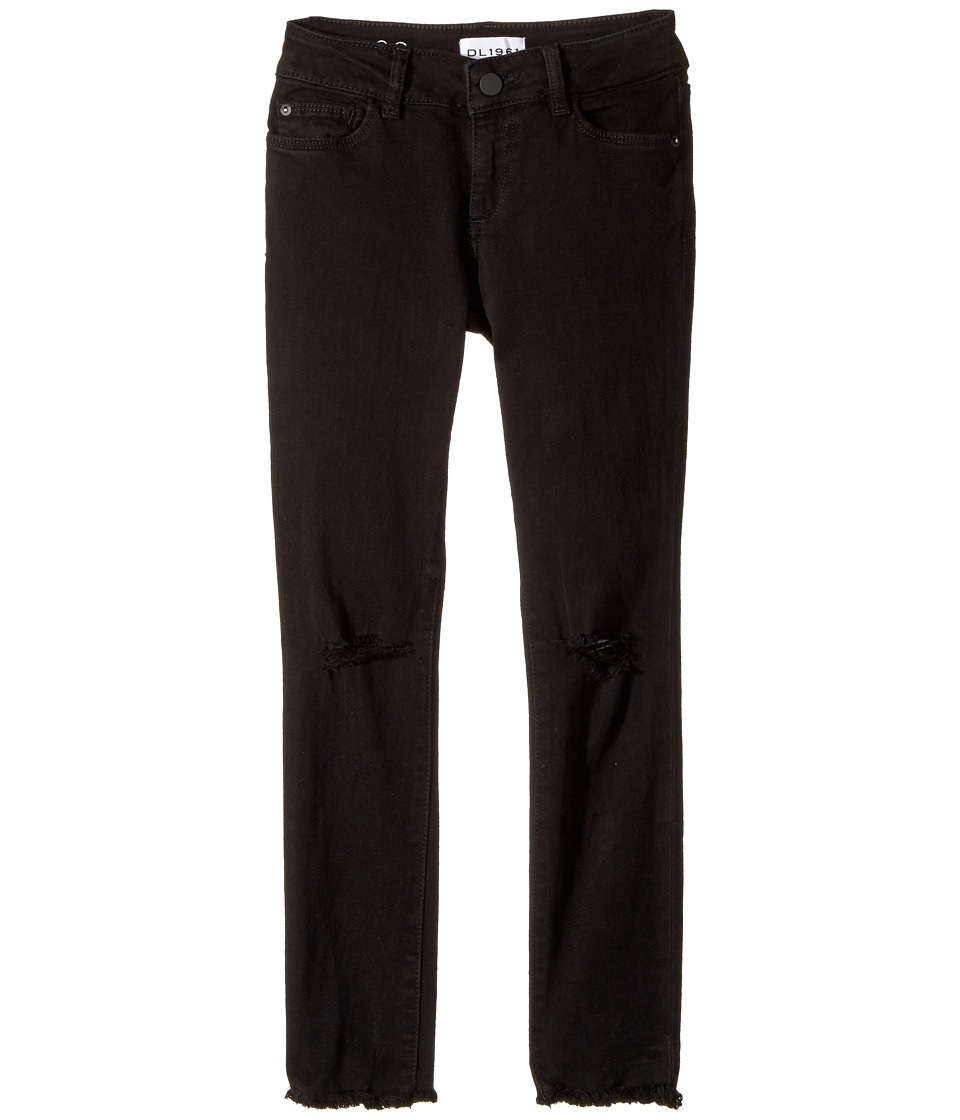 DL1961 Kids Chloe Skinny Jeans in Carbon Destroy (Big Kids) (Carbon Destroy) Girl