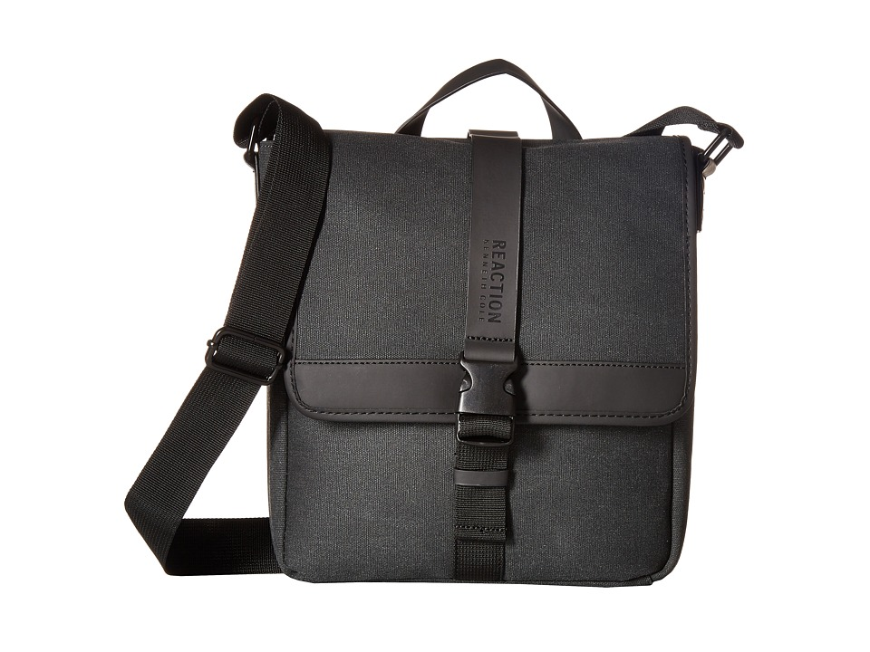 Kenneth Cole Reaction - Urban Artisan - Flapover Crossbody (Charcoal) Bags