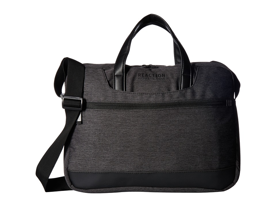 Kenneth Cole Reaction - Outlander - 15.0 Computer Portfolio (Charcoal/Black) Bags