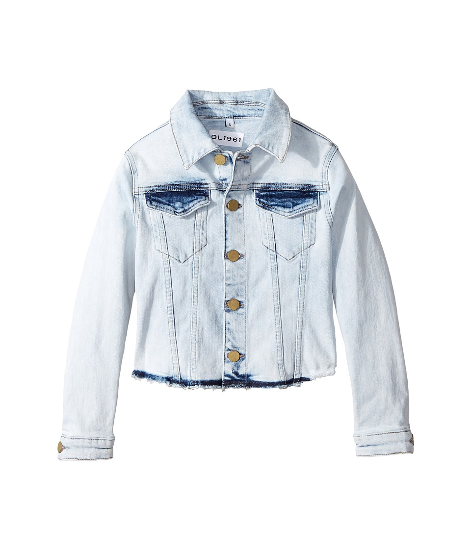 DL1961 Kids - Acid Rinse Denim Jacket with Angled Hem