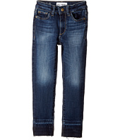DL1961 Kids - Mid Wash Relaxed Skinny with Released Hem Jeans in Montrose (Toddler/Little Kids)