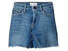 DL1961 Kids Mid Wash Minnie Skirt in Blue Rose (Big Kids)
