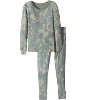 P.J. Salvage Kids - Butterfly Jammie Set (Toddler/Little Kids/Big Kids)