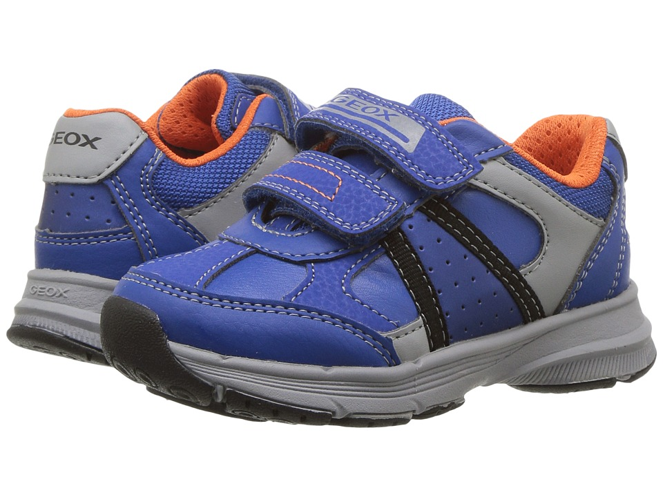 Geox Kids Jr Top Fly Boy 1 (Toddler/Little Kid) (Royal) Boy's Shoes