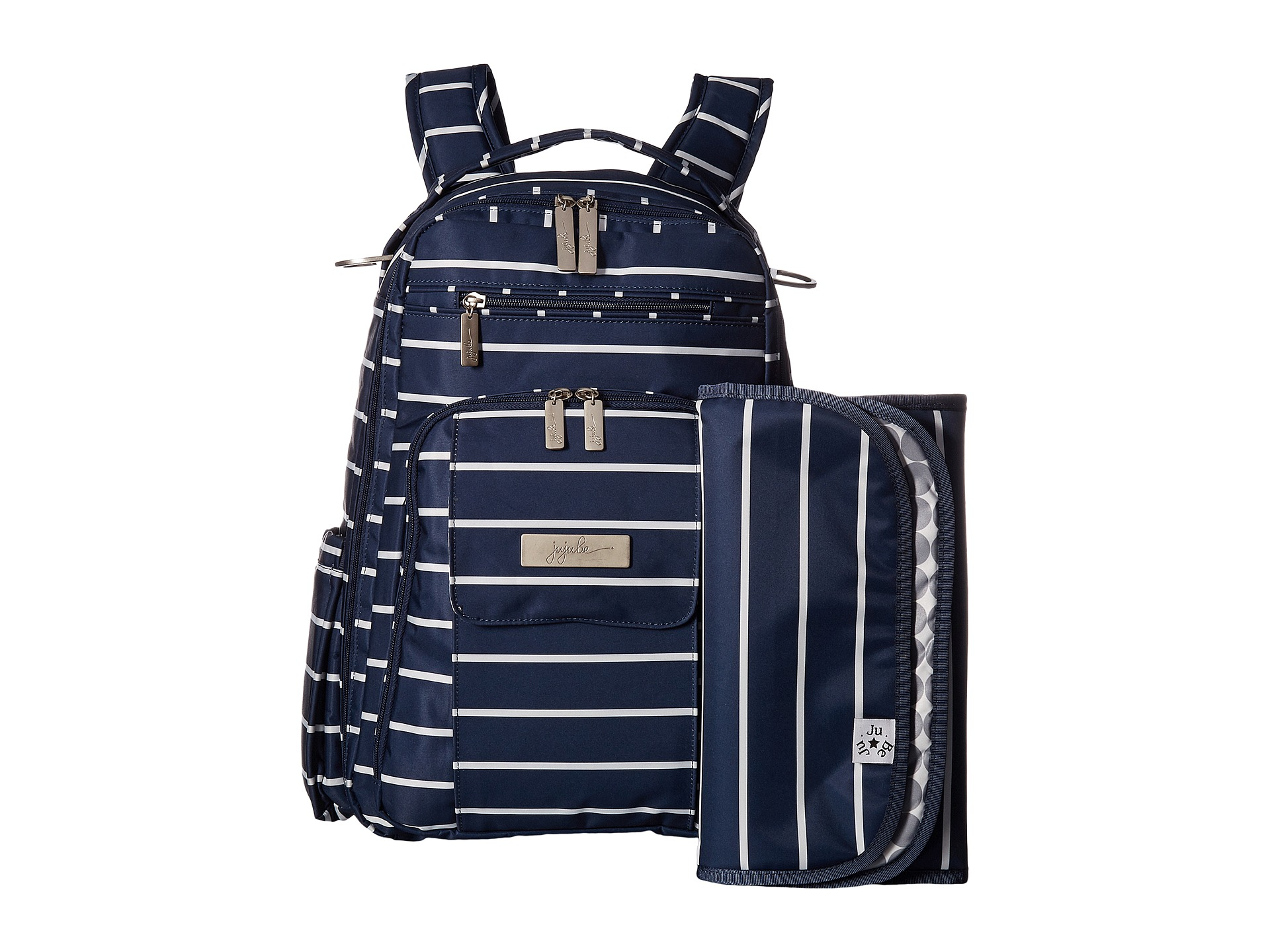 ju ju be coastal be right back backpack diaper bag at. Black Bedroom Furniture Sets. Home Design Ideas