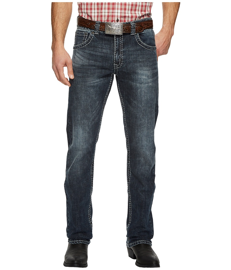 Wrangler Rock 47 Denim Slim Straight (Conga) Men's Jeans