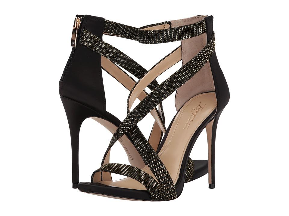 Imagine Vince Camuto Devin (Black/Soft Gold) High Heels