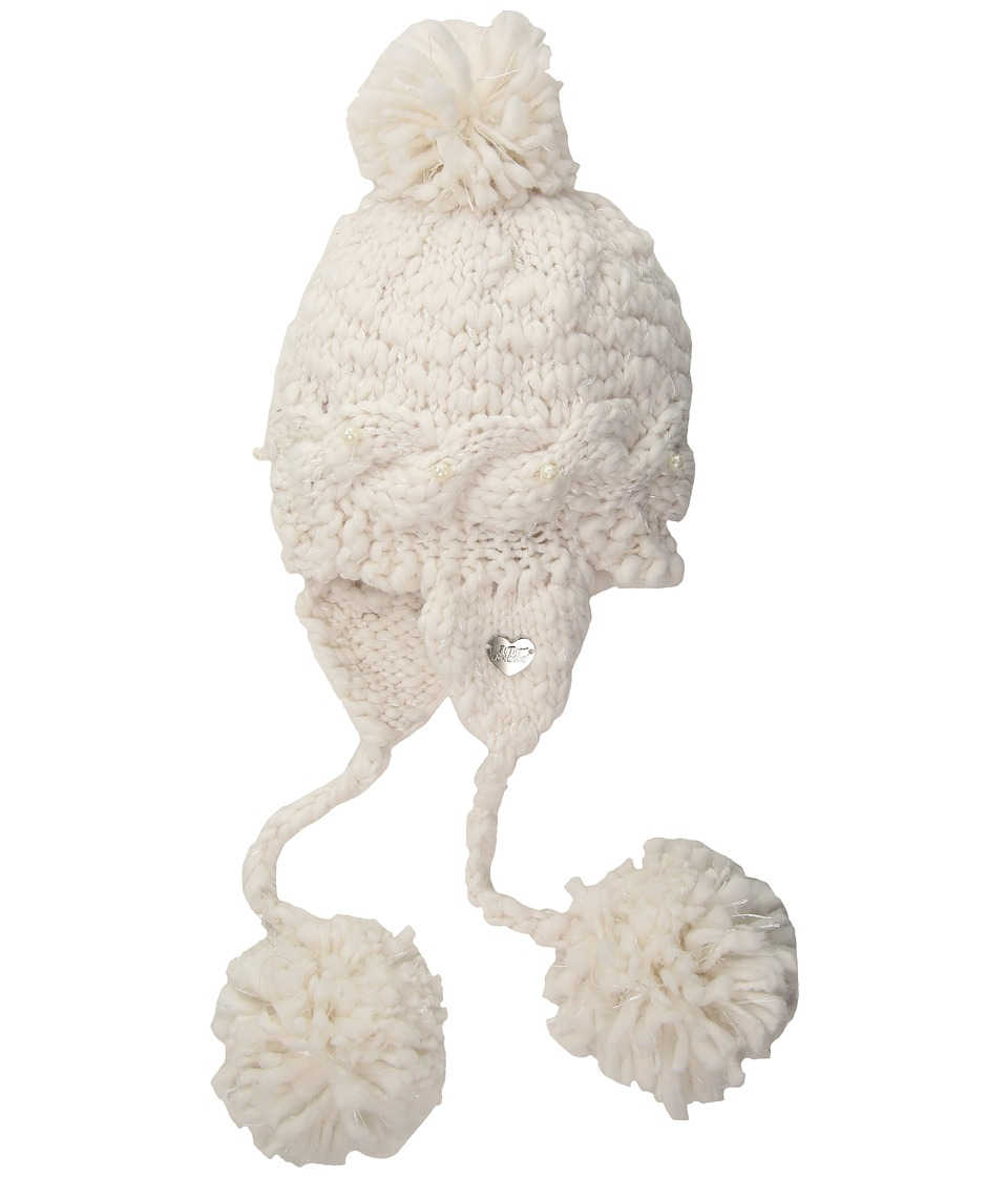 Betsey Johnson - Pearly Girl Earflap Hat