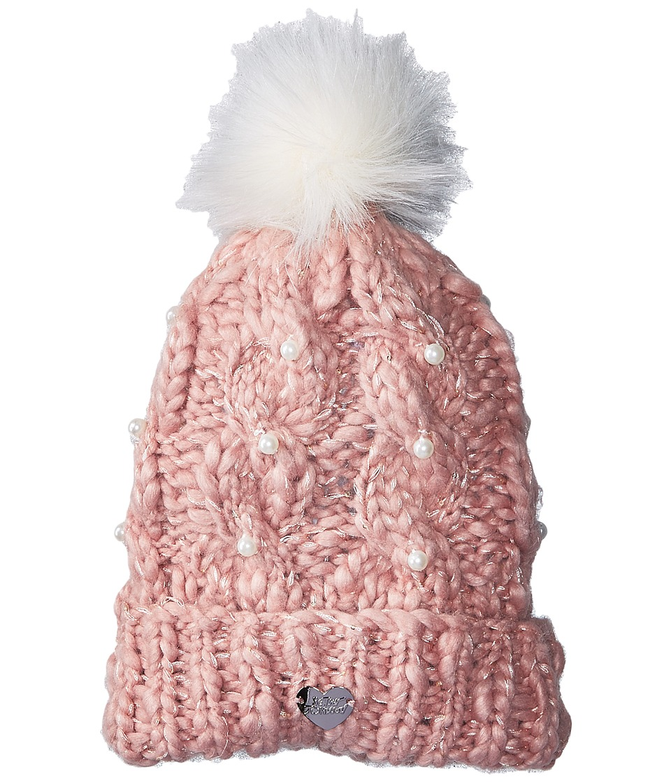 Betsey Johnson - Pearly Girl Cuff Hat
