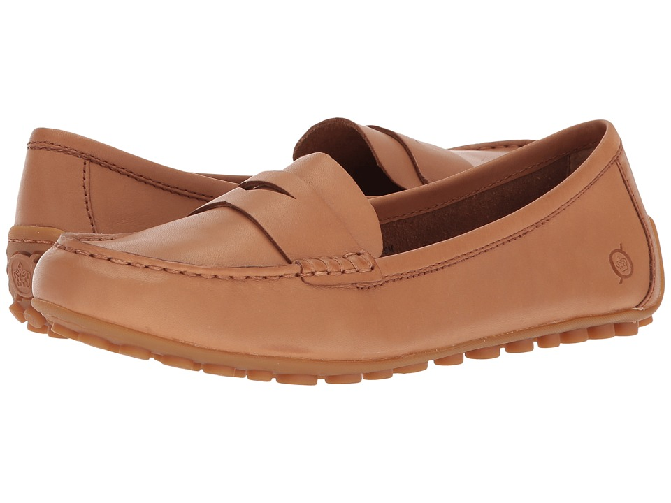 Born Malena (Tan (Cognac) Full Grain) Flats