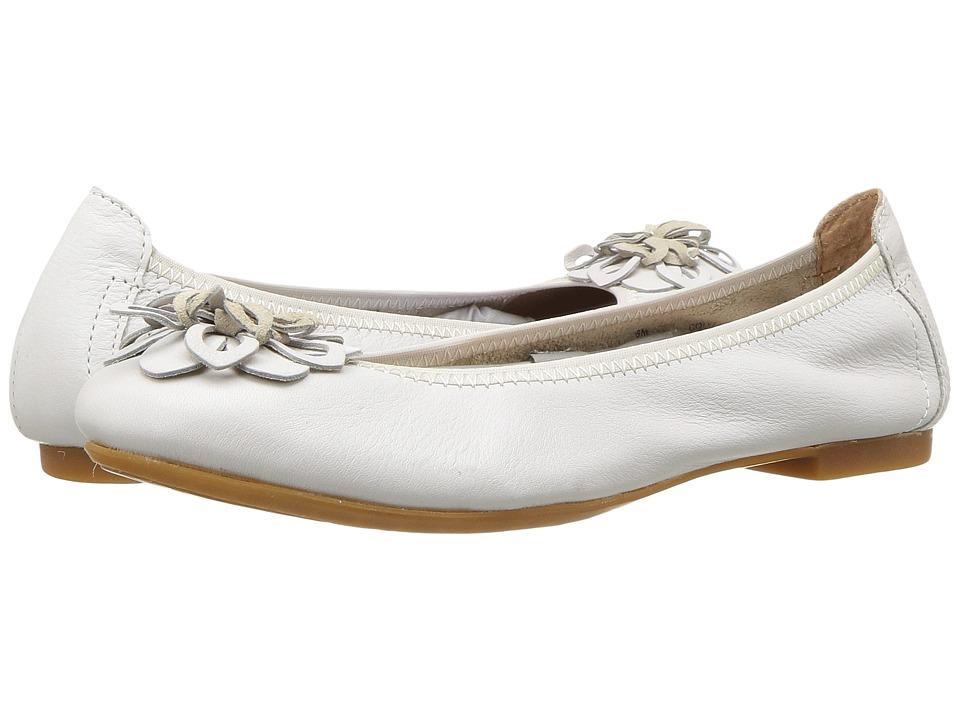 Born Julianne Floral (White Full Grain Leather) Women