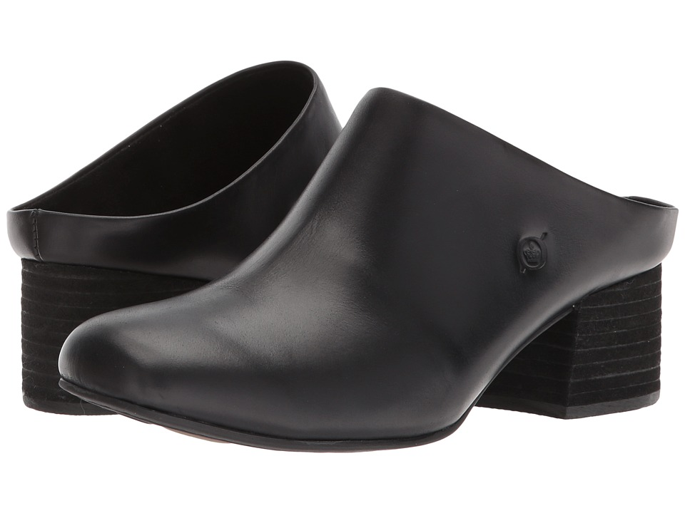 Born Agata (Black Full Grain Leather) Women