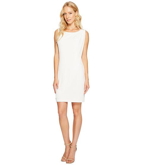 Jessica Simpson Sleeveless Ity Dress with Front Drape