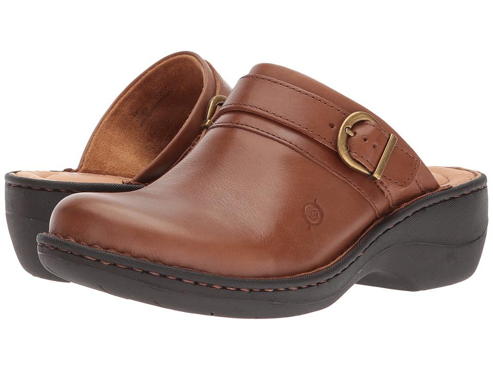 Born Avoca (Brown (Cognac) Full Grain Leather) Women