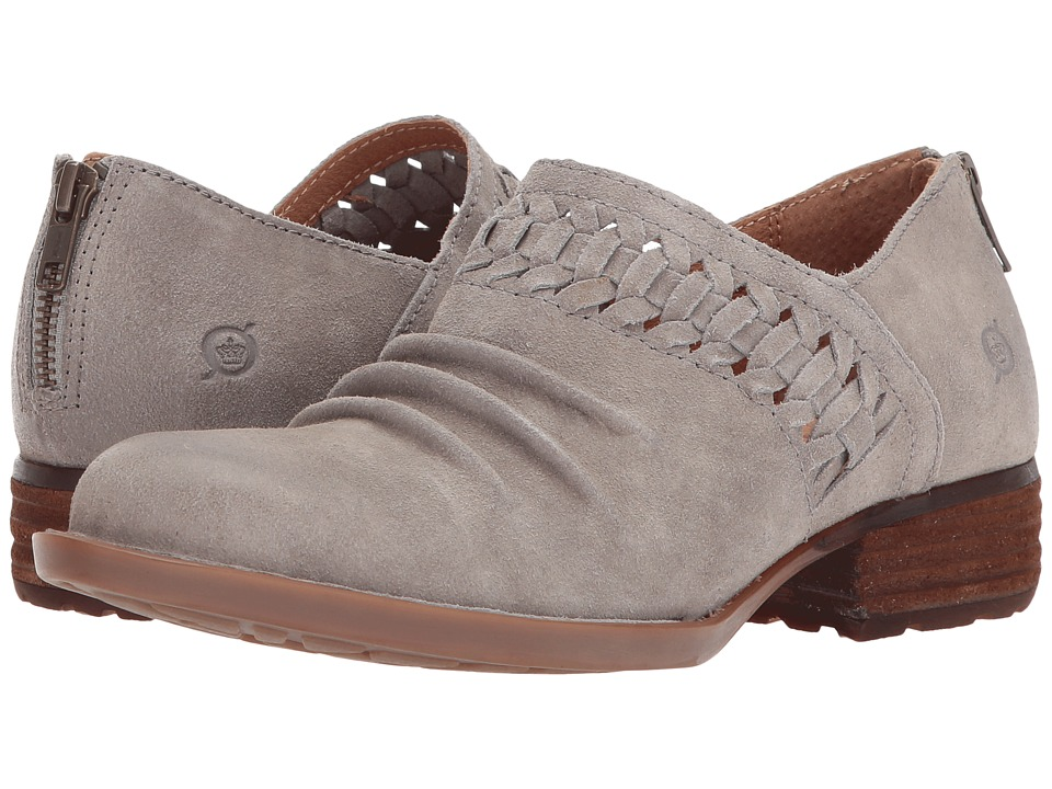 Born Katharina (Grey (Cristal) Distressed Leather) Women