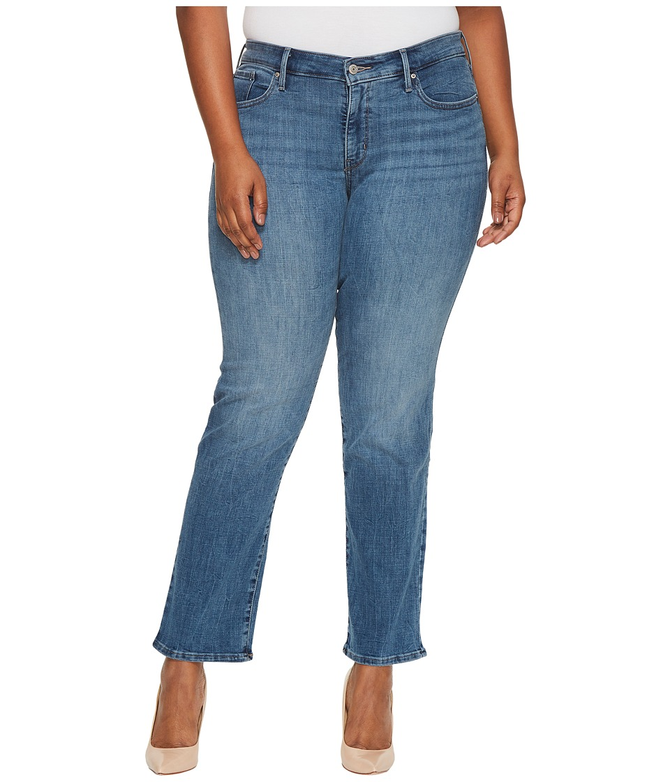 Levis(r) Plus - 314tm Shaping Straight (Water Crackle) Womens Jeans