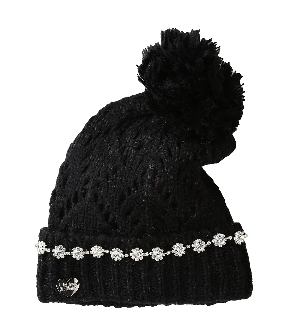 Betsey Johnson - On the Rocks Cuff Hat