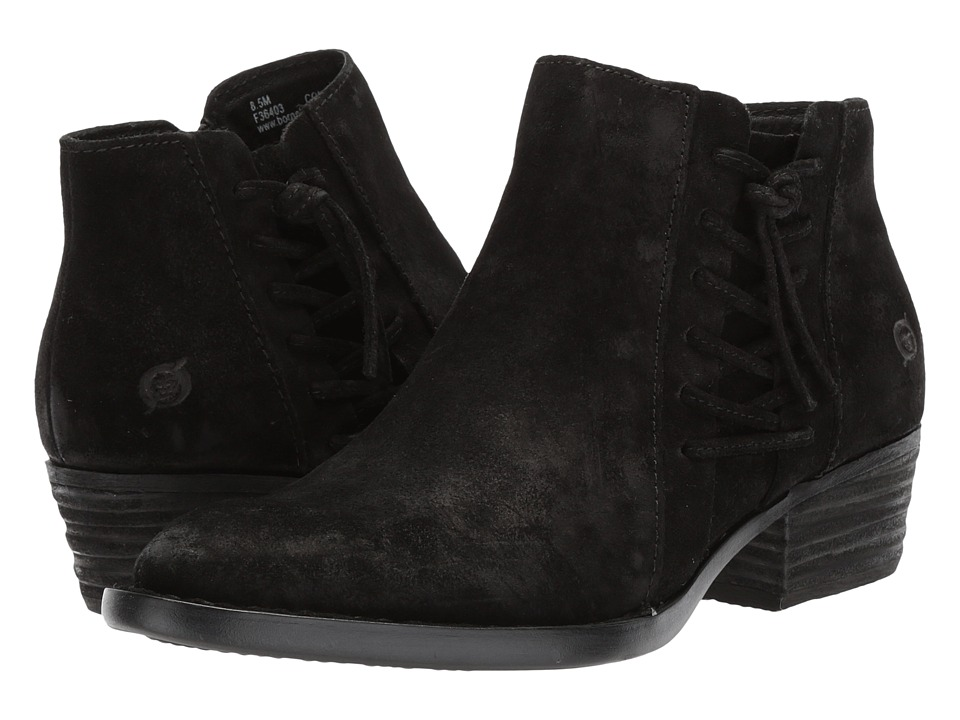 Born Bessie (Black Suede) Slip-On Shoes