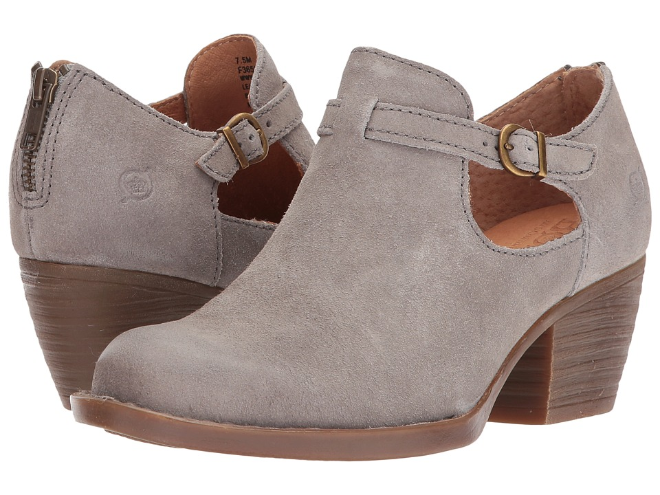 Born Mendocino (Grey (Cristal) Distressed Leather) Women