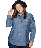 Levi's® Plus - Plus Size Workwear Boyfriend Long Sleeve Woven
