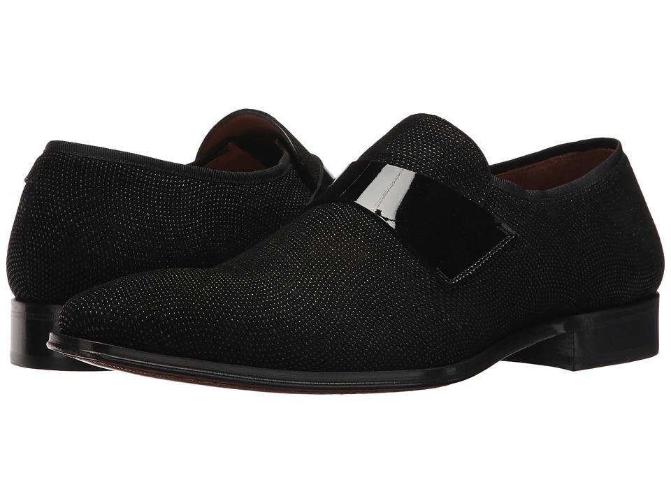 Mezlan Barrio (Black) Men's Slip-on Dress Shoes