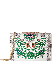 Tory Burch - Gemini Link Large Printed Chain Shoulder Bag
