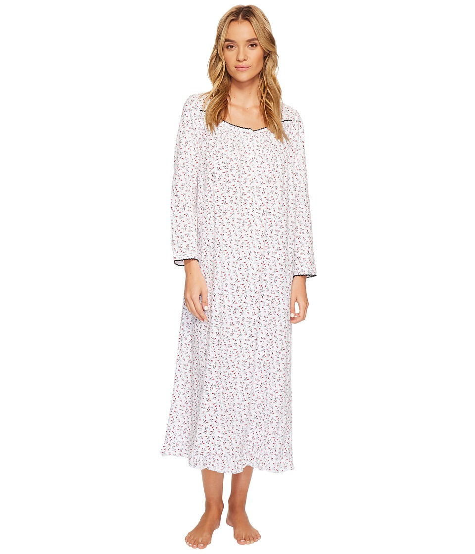 Eileen West - Peached Jersey Ballet Long Sleeve Nightgown