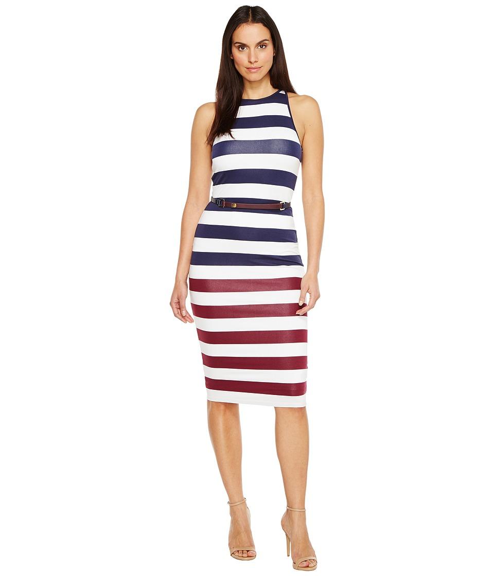 Ted Baker Yuni Rowing Stripe Bodycon Dress (Navy) Women
