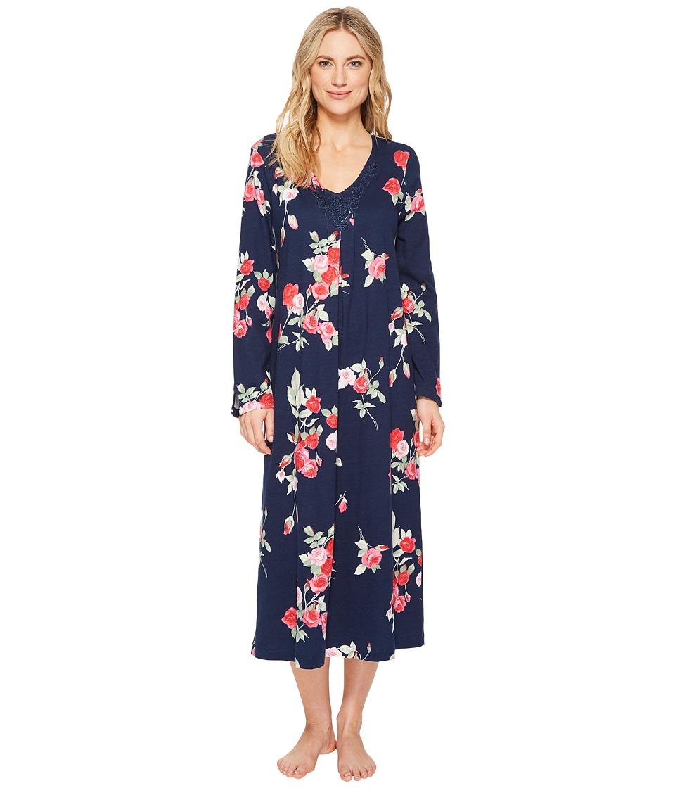 Carole Hochman - Soft Jersey Floral Long Gown