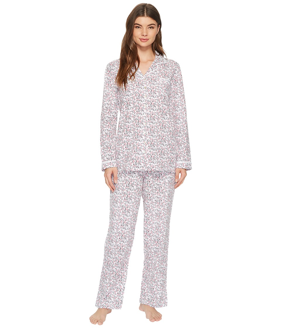 Eileen West - Jersey Notch Collar Pajama