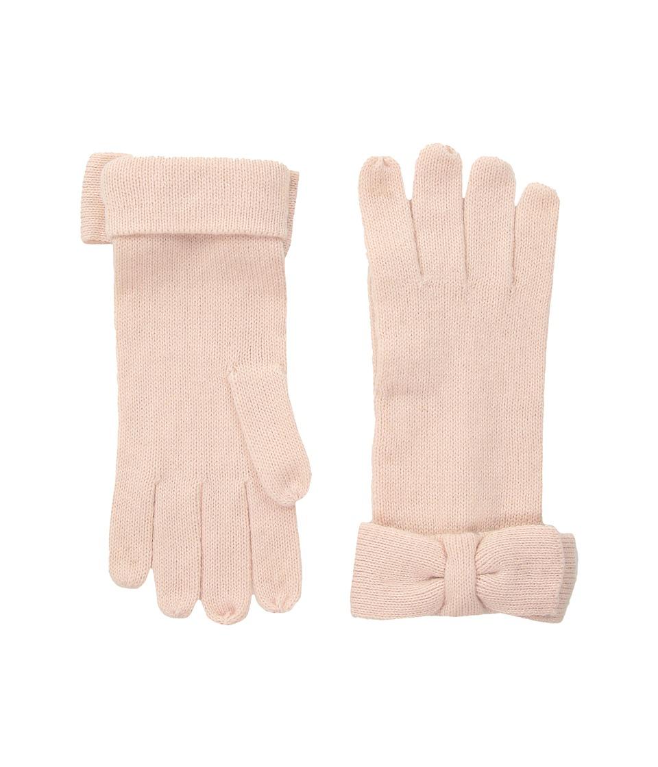 Kate Spade New York Half Bow Gloves (Rose Dew) Dress Gloves