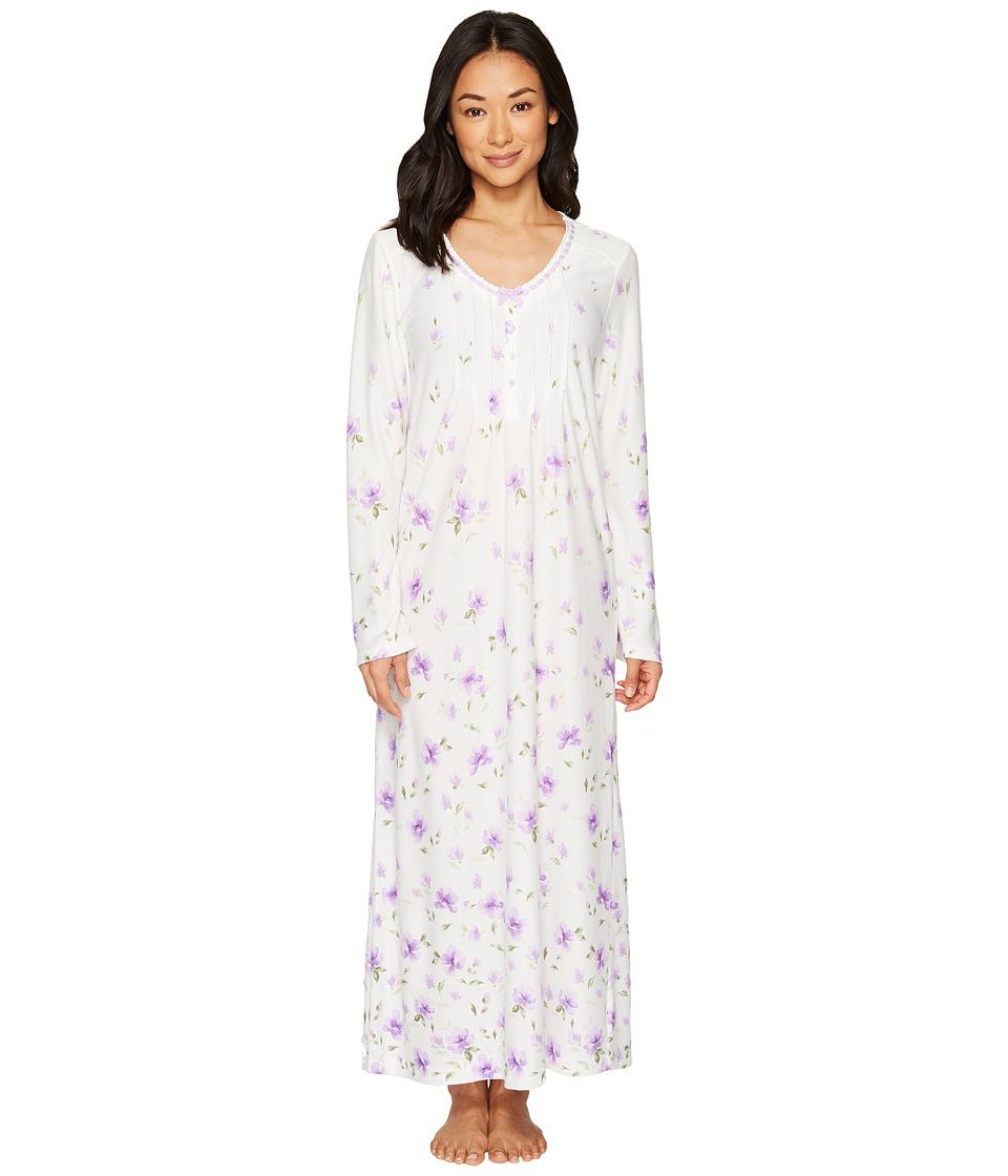 Carole Hochman - Border Print Long Gown