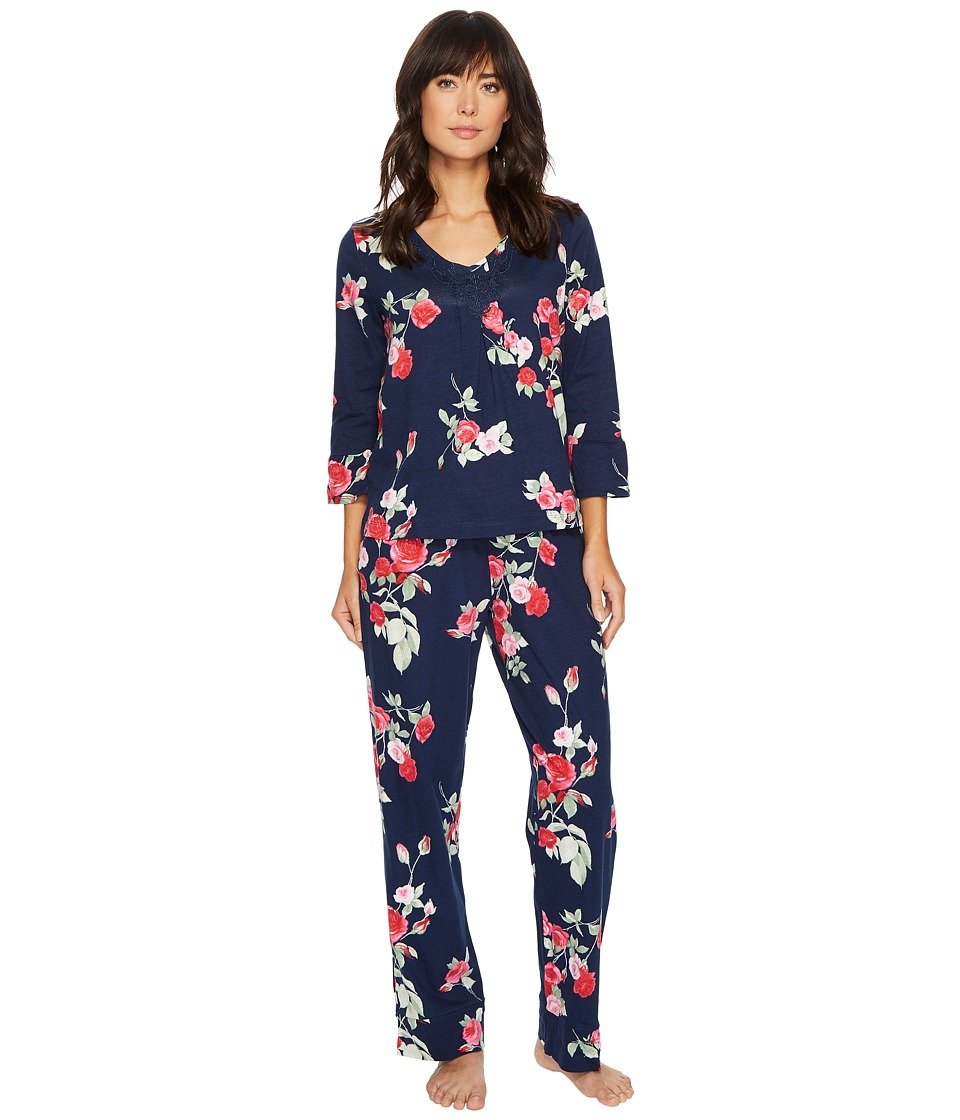 Carole Hochman - Soft Jersey Floral Pajama