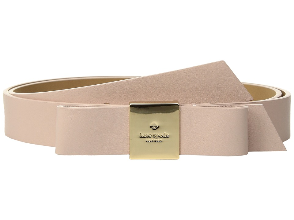 Kate Spade New York - 25mm 1 Smooth Tab Bow Belt