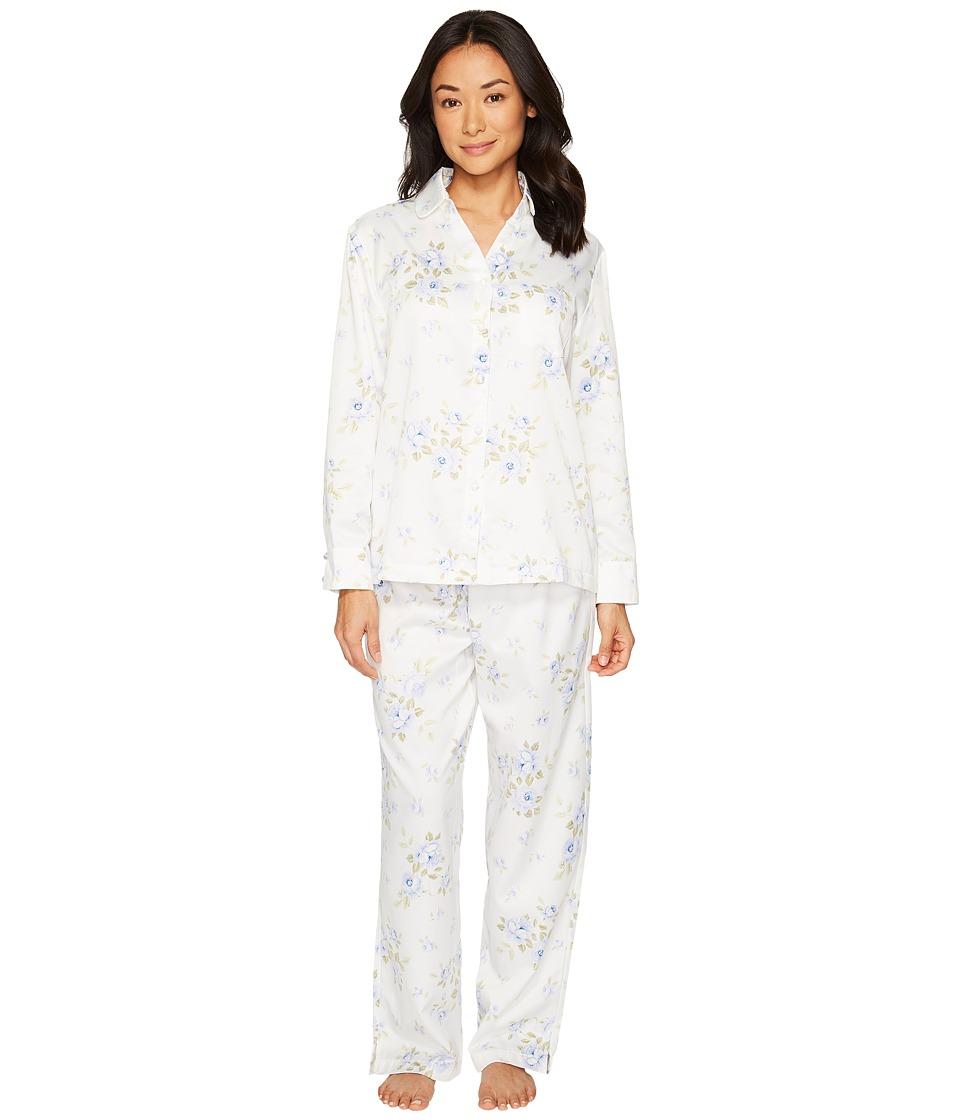 Carole Hochman Brush Back Satin Pajama (Cascading Floral)...