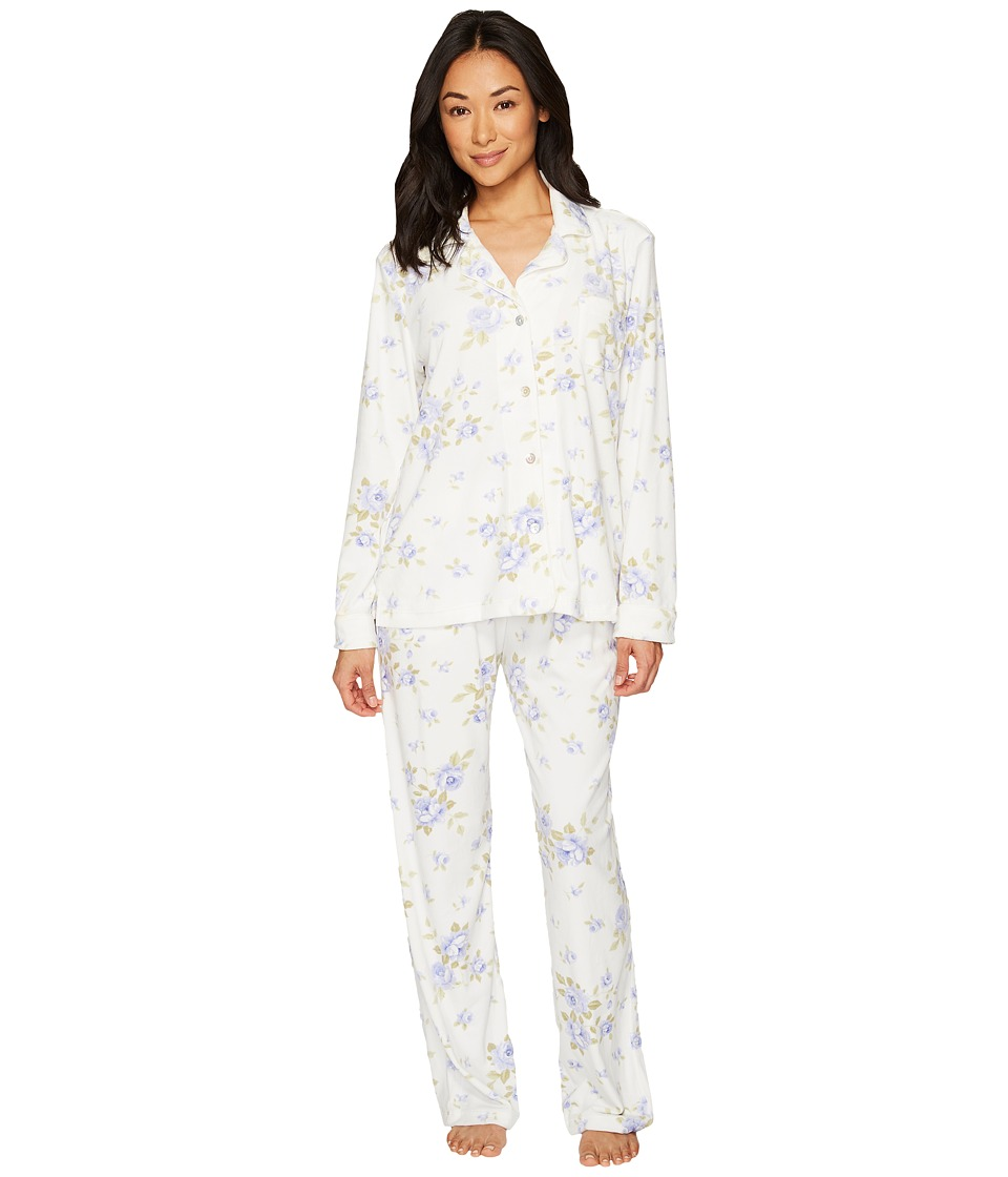 Carole Hochman Luxe Cozy Fleece Pajama (Cascading Floral)...