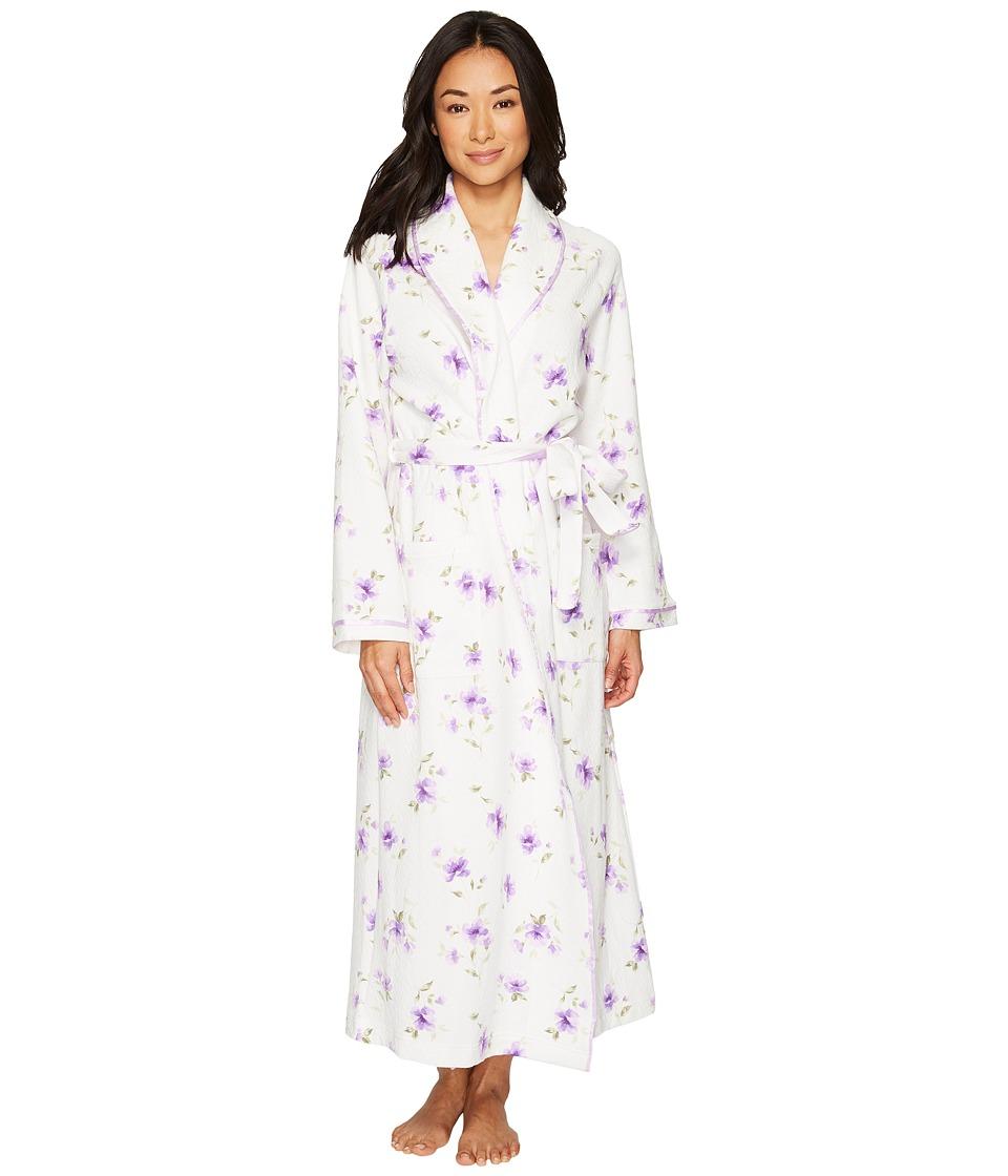 Carole Hochman - Diamond Quilt Long Robe