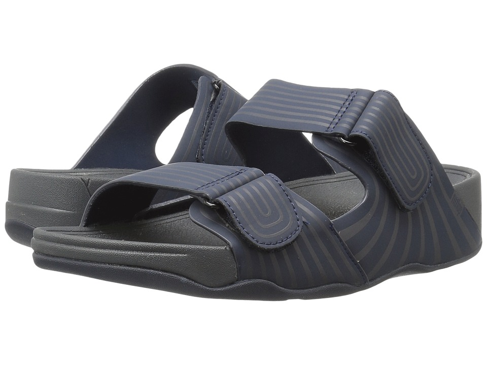FitFlop - Gogh Slide Adjustable Sport (Supernavy) Mens Sandals