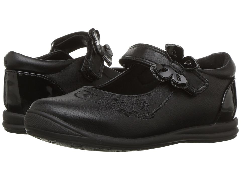 Rachel Kids Vienna (Toddler/Little Kid) (Black) Girl's Shoes