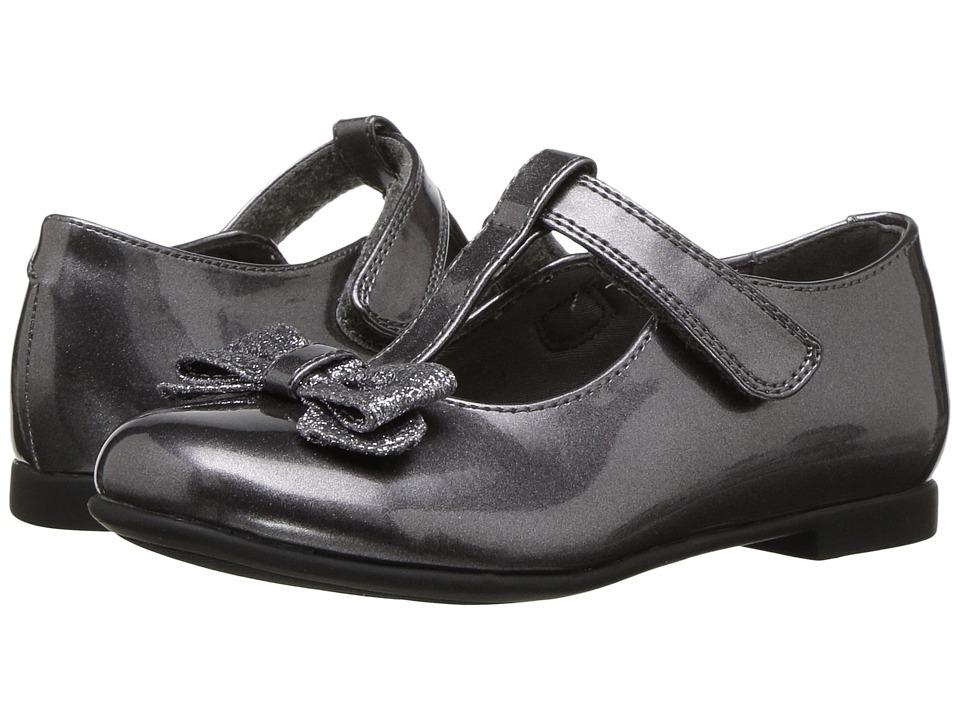 Rachel Kids Lil Molly (Toddler) (Pewter Metallic) Girl's Shoes